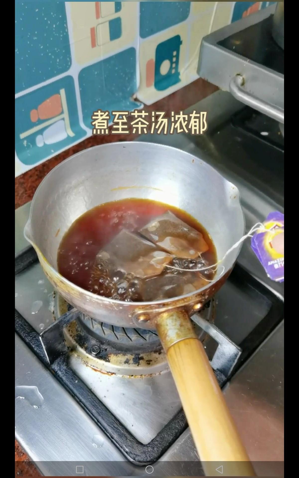 芋圆奶茶的做法大全