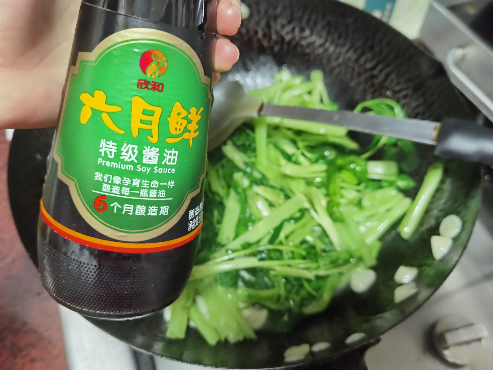 清炒通心菜怎么吃