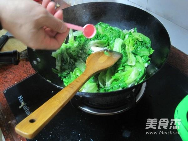 鲍汁生菜怎么炒