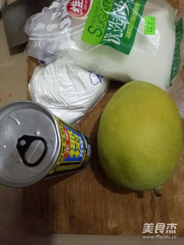 芒果椰香小丸子的做法大全