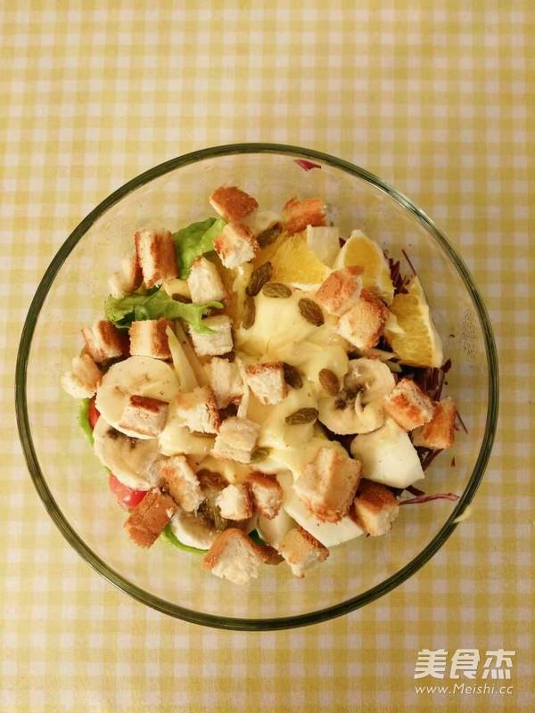 果蔬沙拉的做法图解