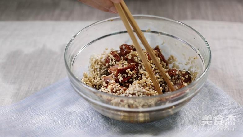 蚕豆糯米排骨的做法图解