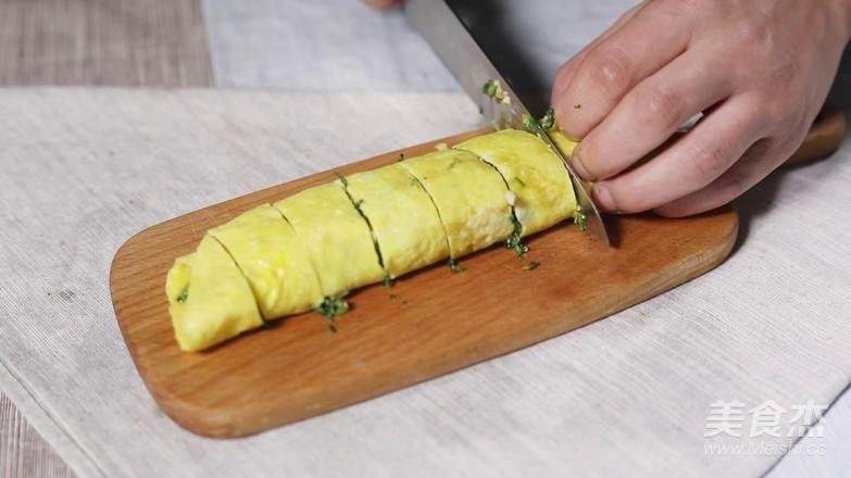 马兰头鸡蛋卷怎么吃