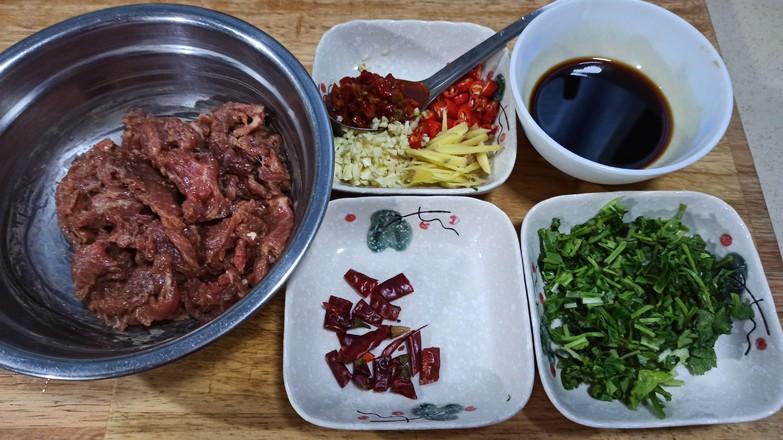 小炒牛肉的家常做法