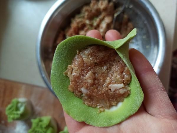 翡翠饺子怎么做
