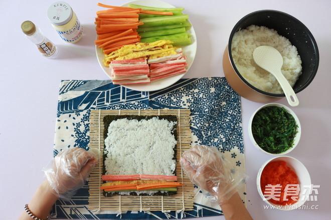 日式手卷寿司的制作方法怎么做