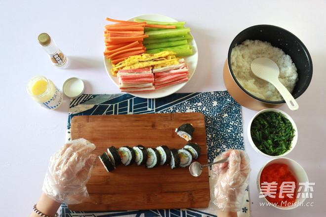 日式手卷寿司的制作方法怎么煮