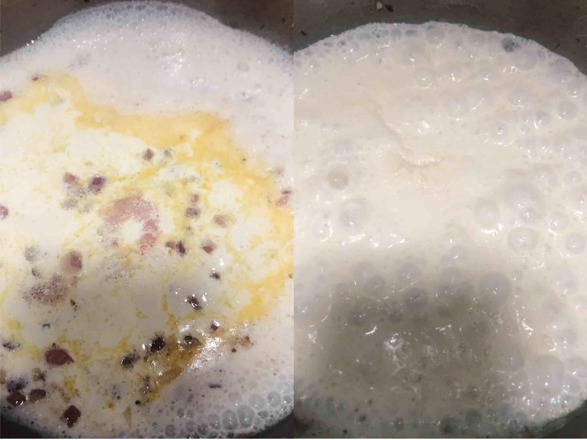 奶油海鲜意大利面怎么吃