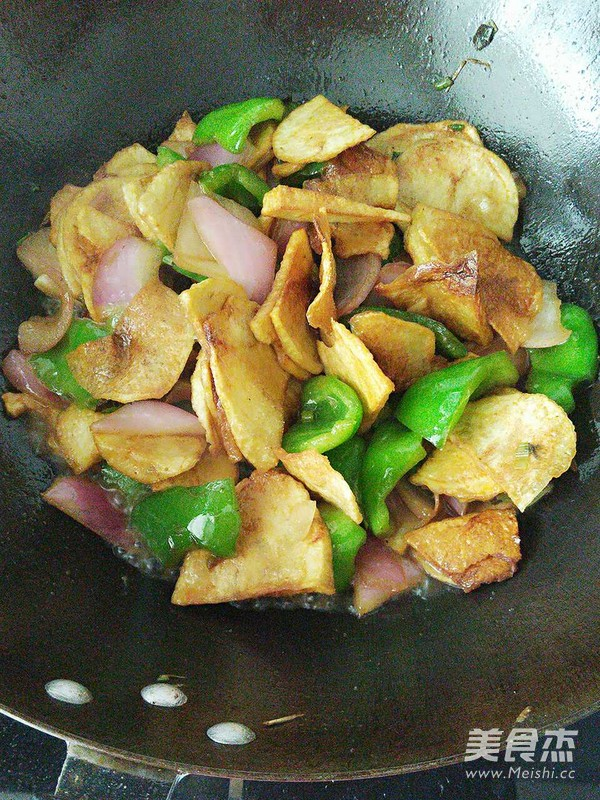 干锅土豆片怎么做