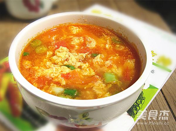 番茄蛋花汤怎样做