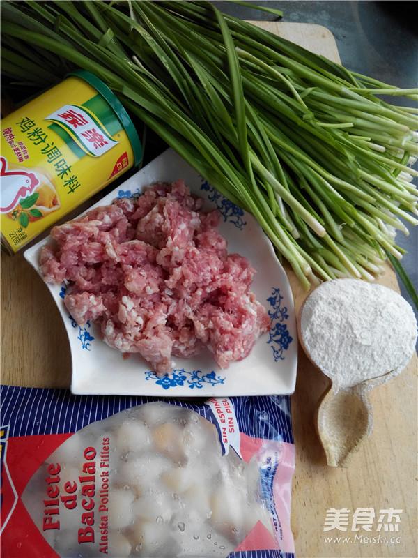 扇贝猪肉韭菜饺子的做法大全