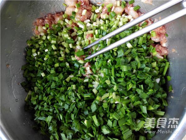 扇贝丁猪肉韭菜饺子馅怎么炖