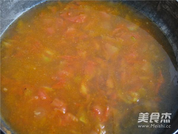 番茄蛋花汤怎么炒
