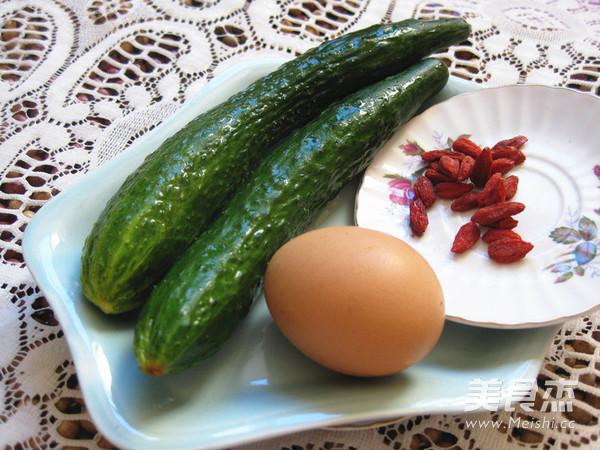 黄瓜枸杞鸡蛋汤的做法大全