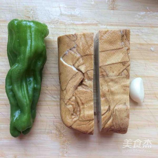 青椒炒香干的做法大全