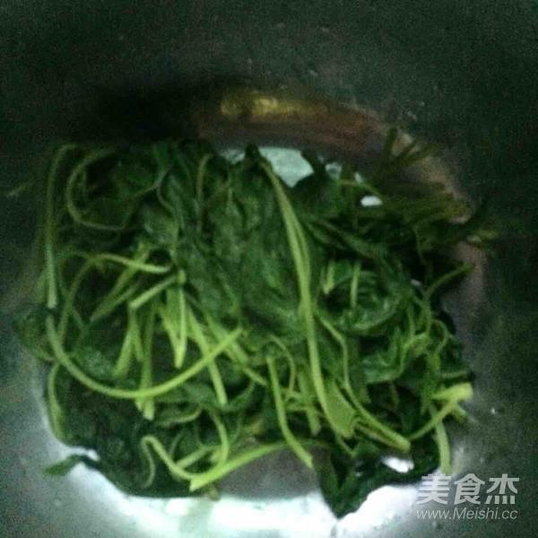 凉拌空心菜叶怎么吃