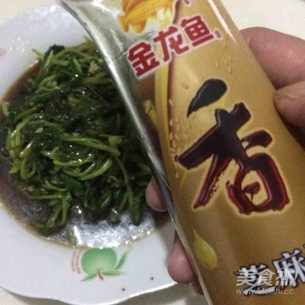 凉拌空心菜叶怎样做