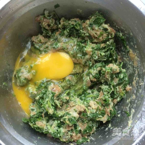 空心菜肉末鸡蛋饼怎么做