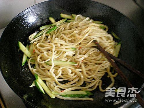 蔬菜炒面怎么做