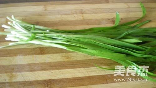干豆腐炒韭菜的家常做法