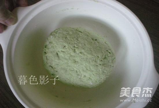 菠菜汁麻酱面的家常做法