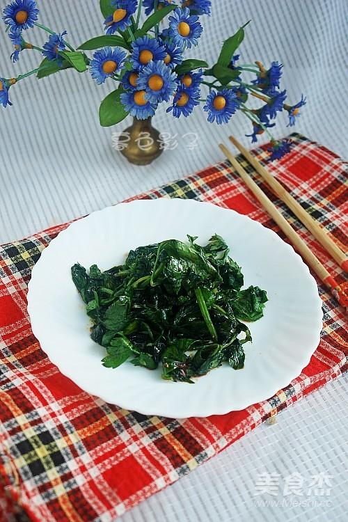 腌芹菜叶成品图
