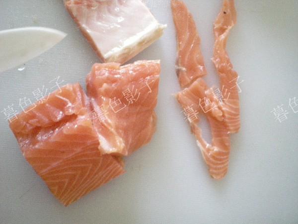 辣根三文鱼的简单做法