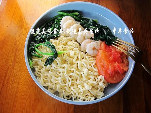 蔬菜虾仁拌面怎么煮