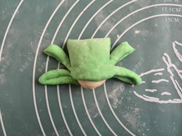 卡通青蛙馒头怎么吃