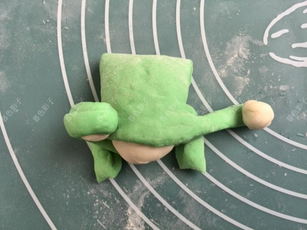 卡通青蛙馒头怎么做