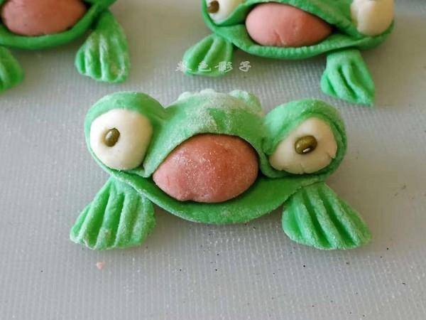 卡通青蛙馒头怎么煮