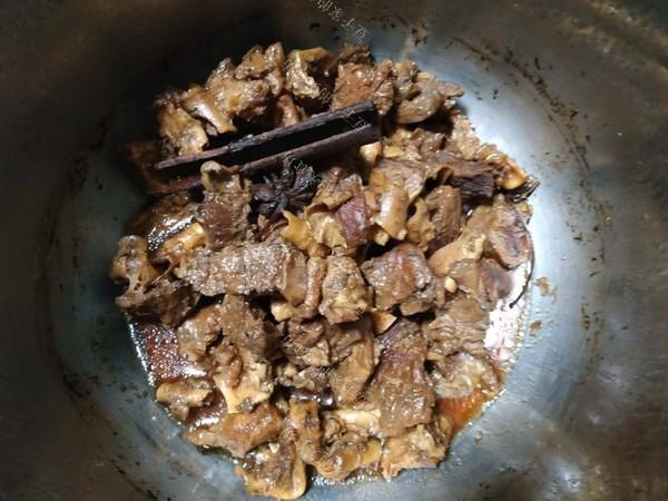 牛腩炖冻豆腐的做法图解