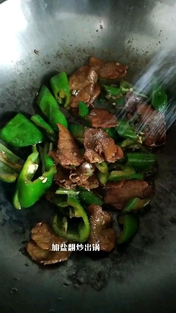 辣椒炒肉片的家常做法