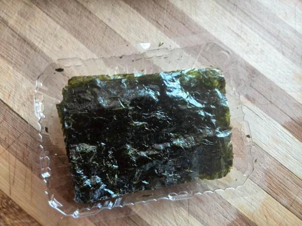 海苔蔬菜什锦炒饭的做法图解