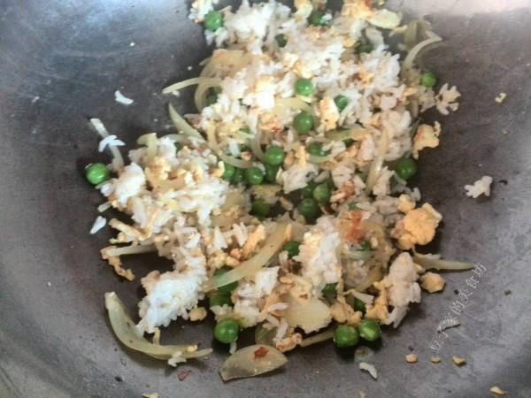 海苔蔬菜什锦炒饭怎么做