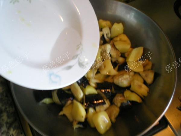 土豆炖茄子怎么吃