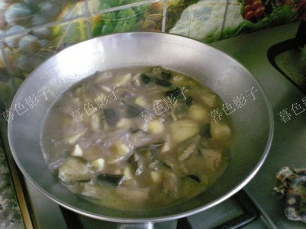 土豆炖茄子怎么炒