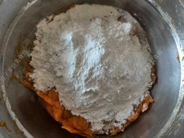 糯米粉豆沙包的做法图解