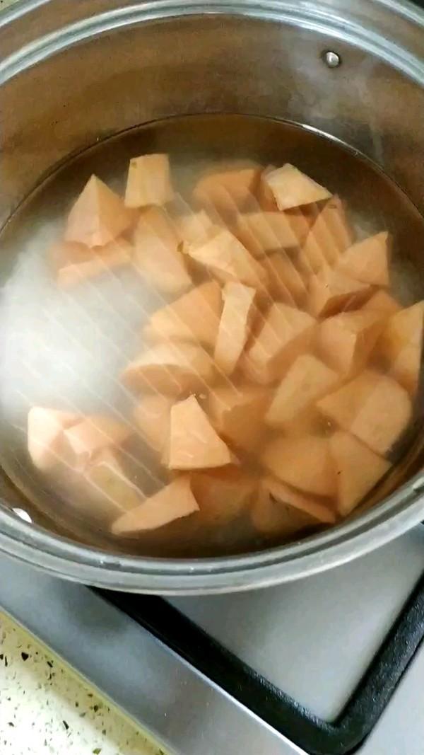 大米地瓜粥的家常做法