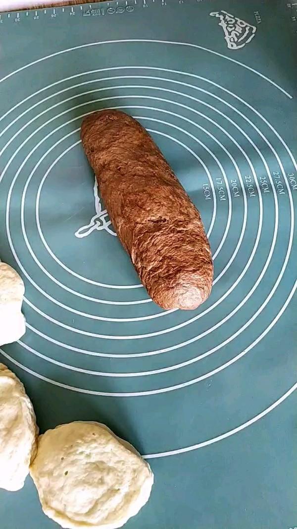 可可粉花式面包怎么做