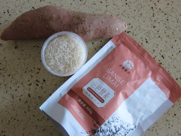 三色藜麦红薯米饭的做法大全