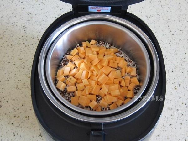 三色藜麦红薯米饭怎么做
