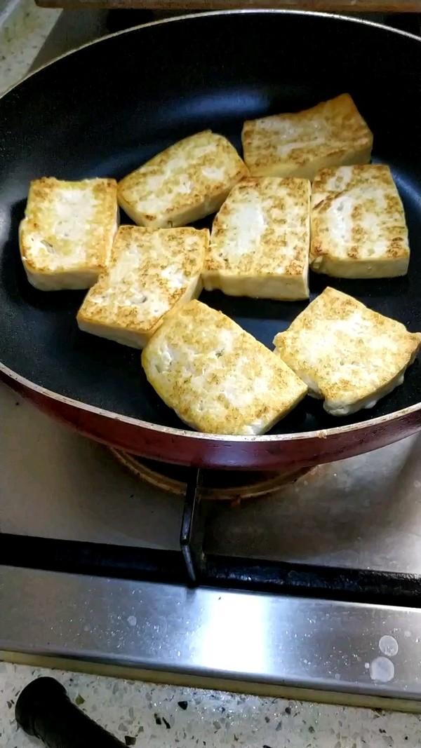 香煎北豆腐的家常做法
