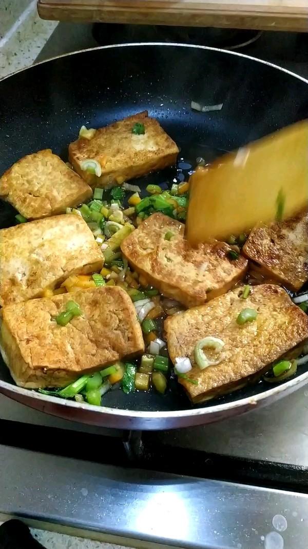 香煎北豆腐的简单做法