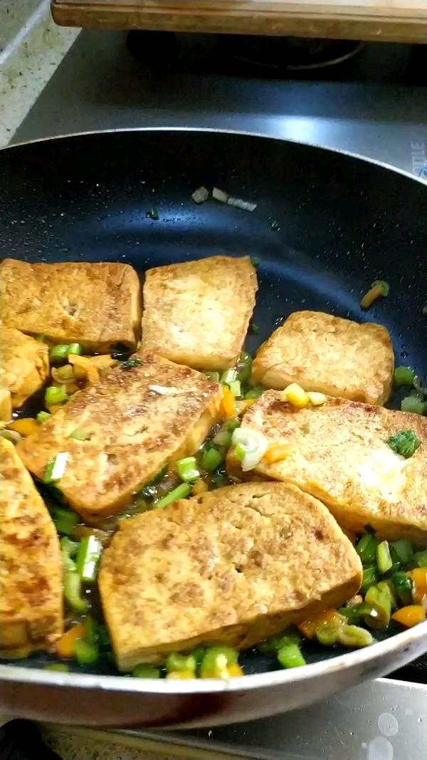香煎北豆腐怎么吃