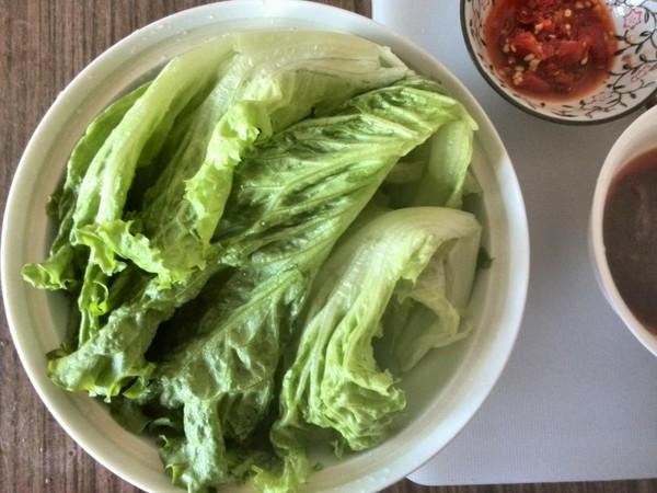 拌生菜怎么吃