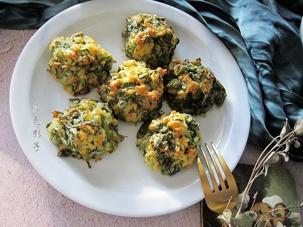 空炸蔬菜丸子成品图