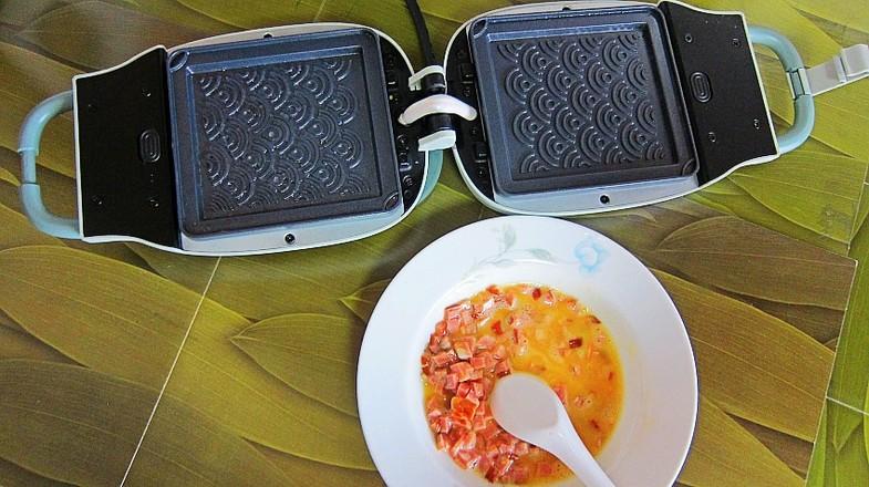 双味煎蛋饼的简单做法