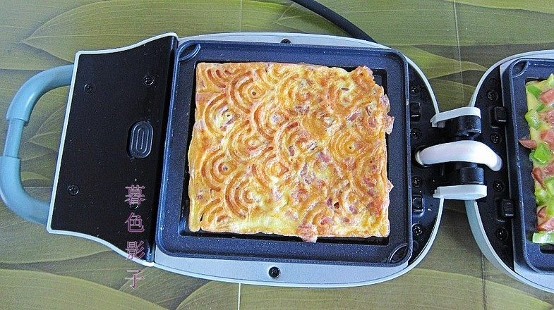 双味煎蛋饼怎么做