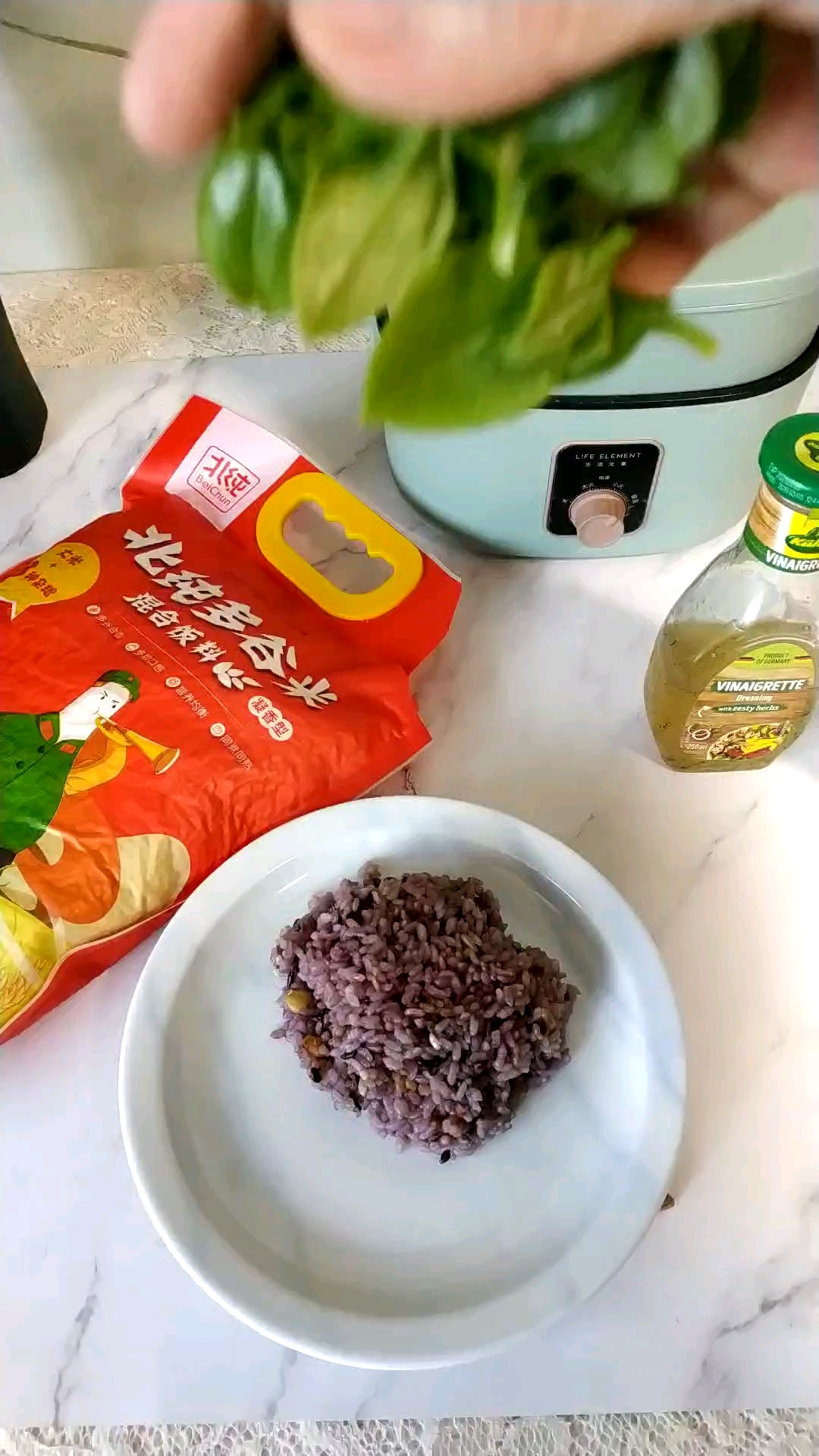 多谷米拌沙拉的家常做法